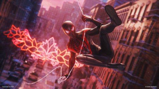 Marvels Spider Man Miles Morales Swing
