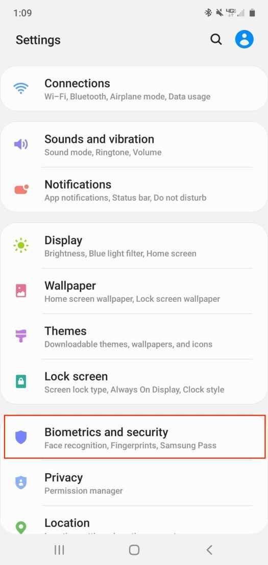 Set Up Secure Folder Samsung