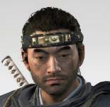 Ghost Of Tsushima Chaos Headband Cropped