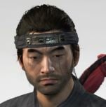 Ghost Of Tsushima Ghost Headband Cropped
