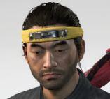 Ghost Of Tsushima Hinode Headband Cropped