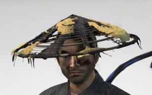 Ghost Of Tsushima Riverbed Straw Hat Cropped