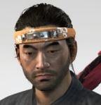 Ghost Of Tsushima Tora Headband Cropped