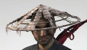 Ghost Of Tsushima Weathered Straw Hat Cropped