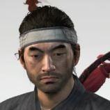 Ghost Of Tsushima White Headband Cropped