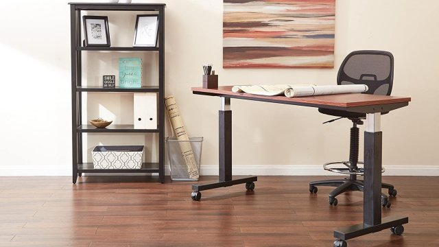 Office Star Mesh Drafting Chair Lifestyle