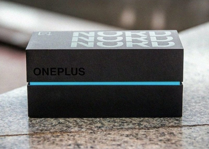 OnePlus Nord packaging