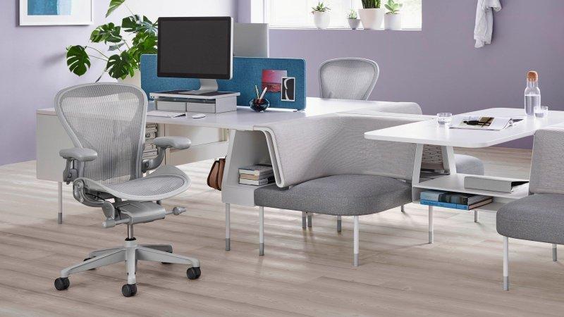 Herman Miller Aeron Task Chair Lifestyle