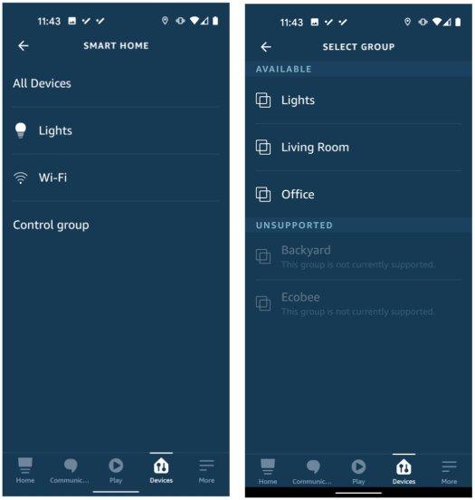 Alexa Light Routines Step 3