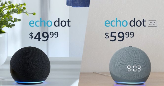 Echo Dot And Dot Clock Prices