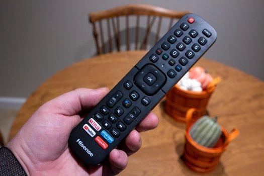 Hisense H65G Series TV Remote
