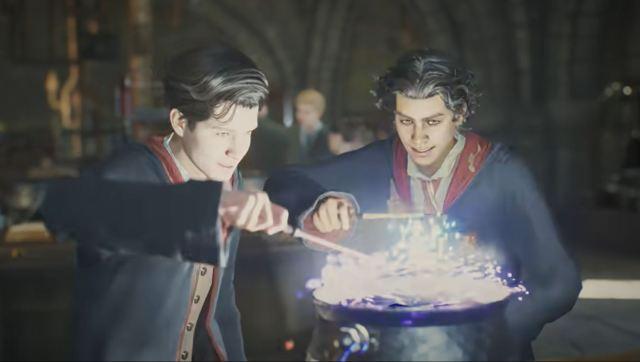 Hogwarts Legacy Potion Brewing