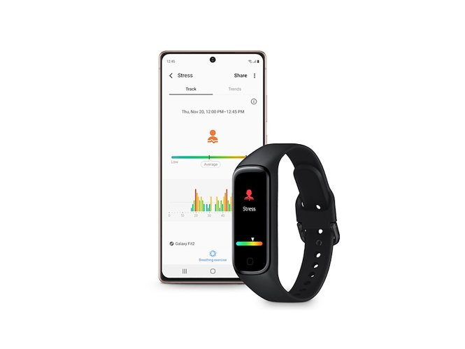 Galaxy Fit 2 With Phone
