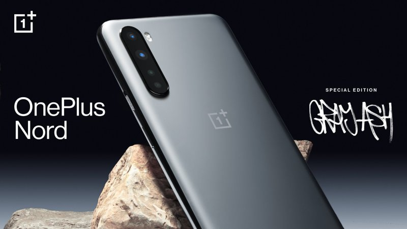 OnePlus Nord Gray Ash color