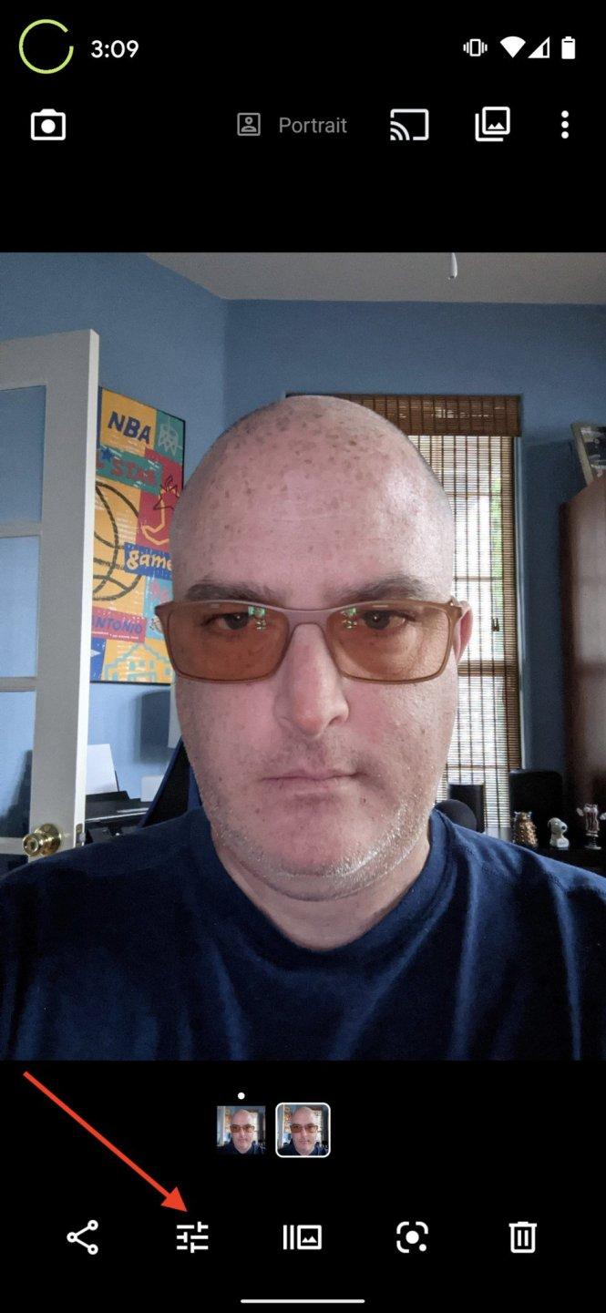 Google Photos how to portrait lighting 1
