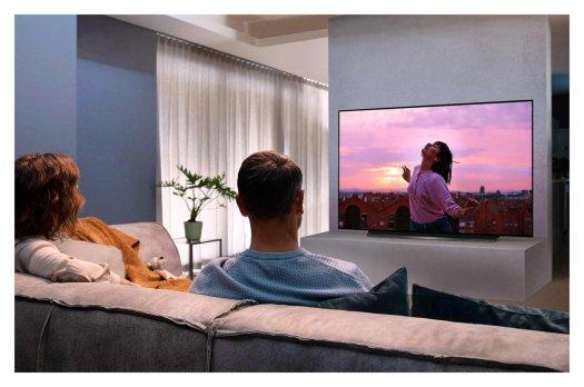 LG OLED CX TV Render