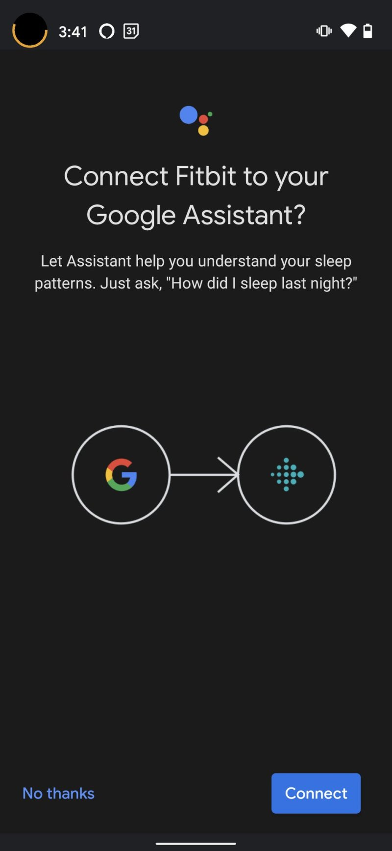 Fitbit Versa 3 Google Assistant Step 6
