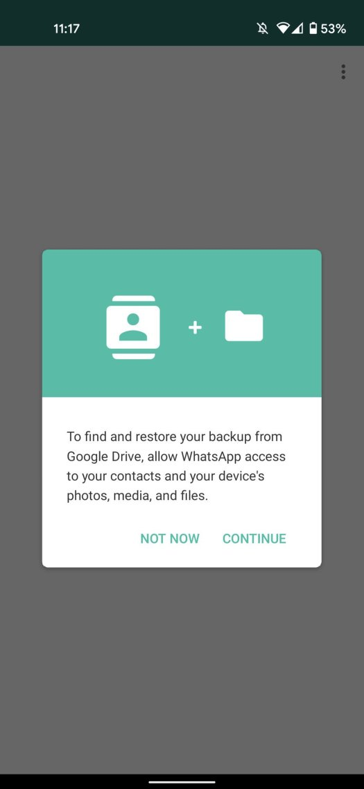 How to set up WhatsApp