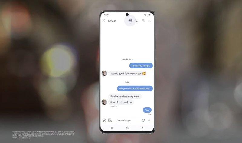 Google Messages Oneui S
