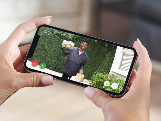 Ring Video Doorbell Wired Lifestyle App