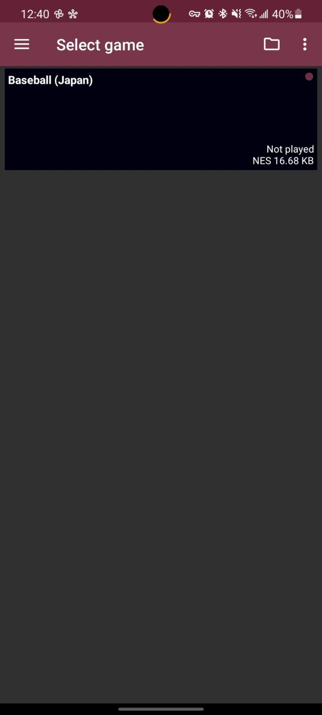 Select Game John Ness