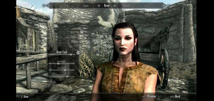 Skyrim Characater Creator Xbox Game Pass Android