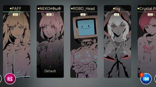 Cytus Ii Characters
