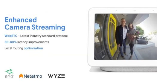 Google Home Webrtc Streaming