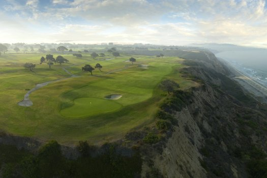 4th Hole of Torrey Pines Golf Course in the San Diego, Calif. on Friday, Sept. 18, 2020. (Copyright USGA/)