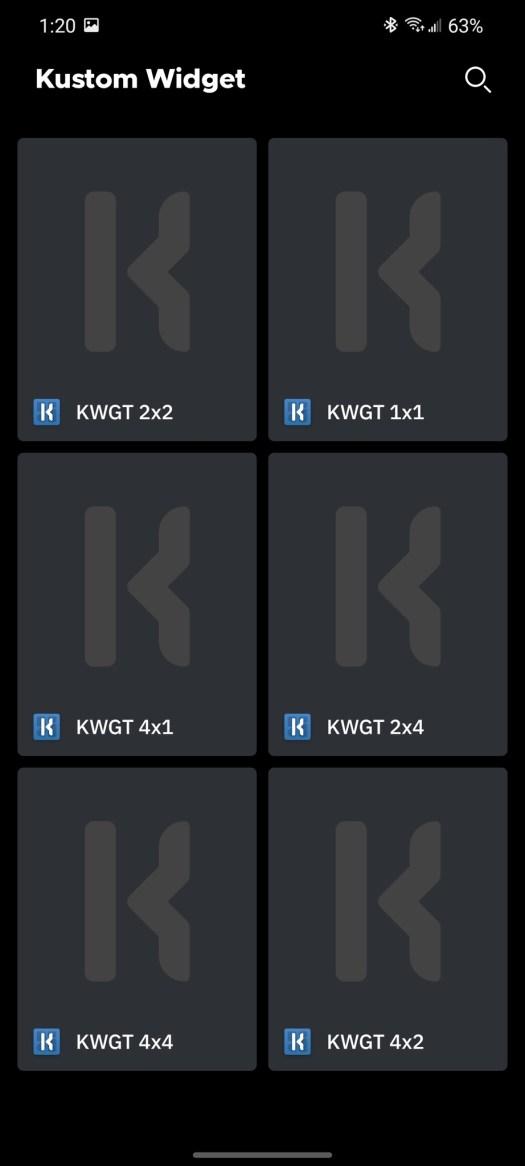Adding KWGT To Pride Theme
