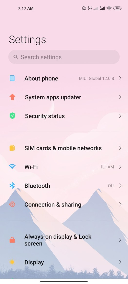 Android 11 Settings