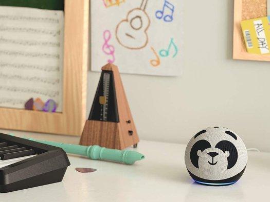 Echo Dot 4th Gen Kids Panda