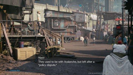 Final Fantasy 7 Remake Intermission Yuffie Sees Avalanche