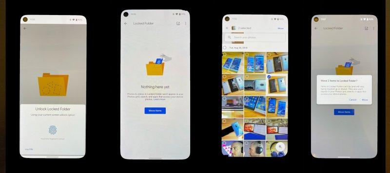 How To Google Photos Locked Folder