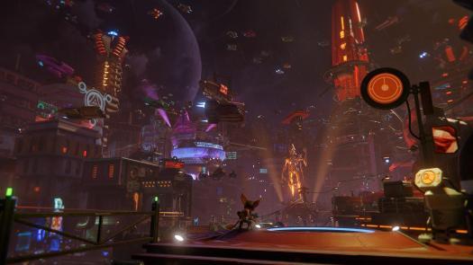 Ratchet And Clank Rift Apart Nefarious City