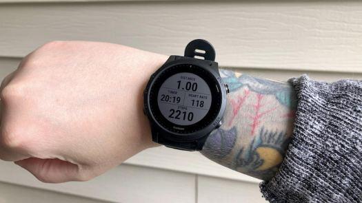 Garmin Forerunner 945 Workout