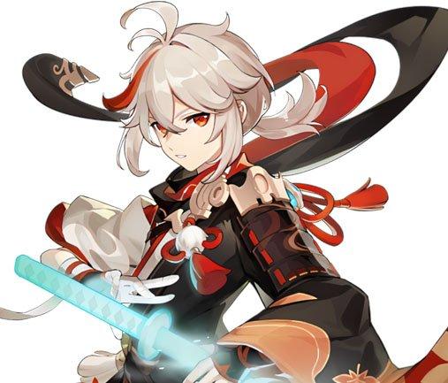 Genshin Impact Characters Kaedehara Kazuha