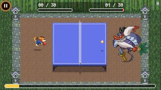 Google Doodle Champion Island Table Tennis