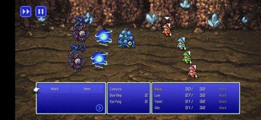 Final Fantasy Pixel Remasters Carbuncle Combat