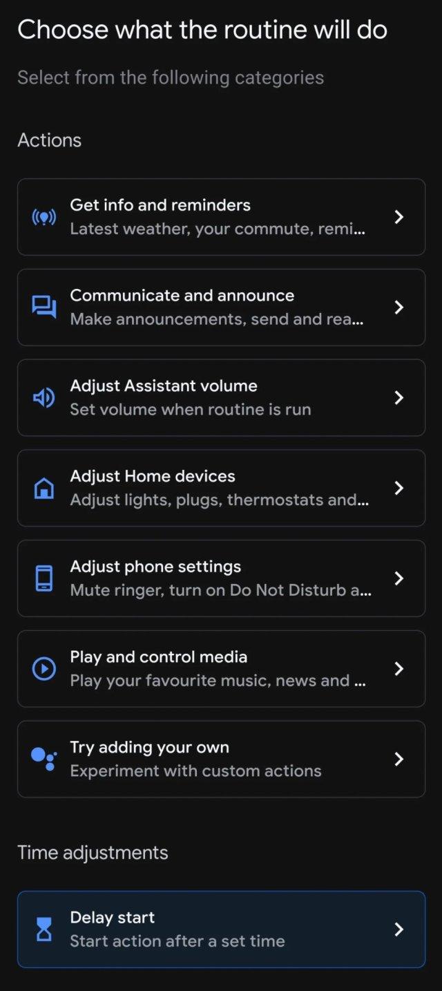 Google Home Time Adjustments