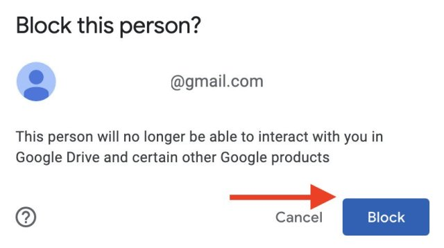 How To Block Spam Google Drive Web 2