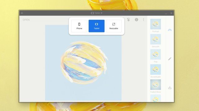 Chrome OS Android Resize Lock