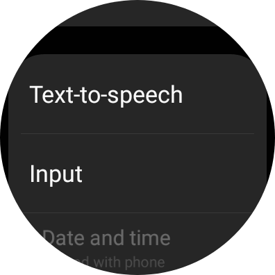 Changing Text To Speech on Galaxy Watch 4