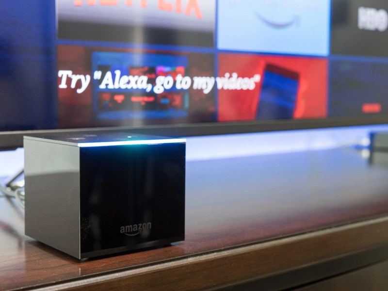 The Amazon Fire TV Cube