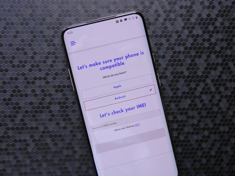 Compatibilité app téléphone visible