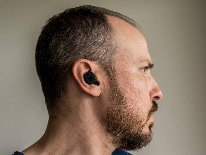 Sennheiser Cx True Wireless Wearing