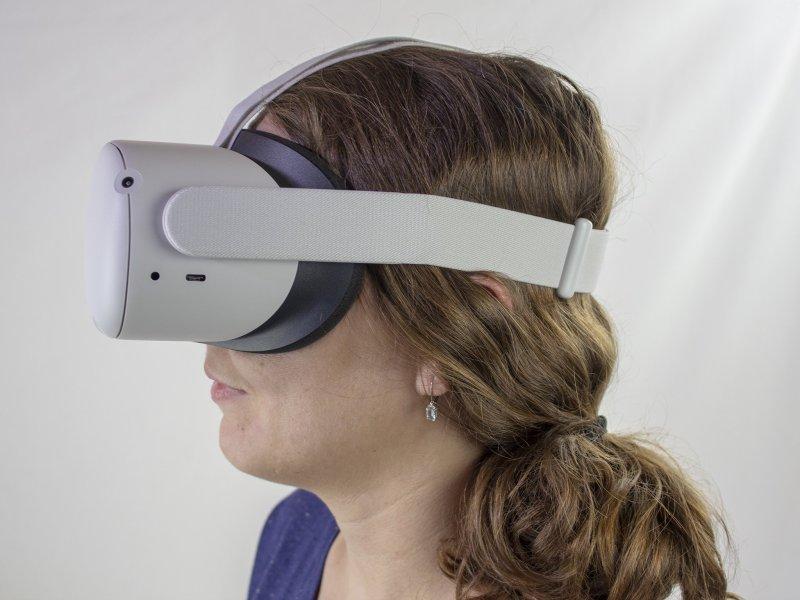 Oculus Quest 2 Head Strap Loose Hair