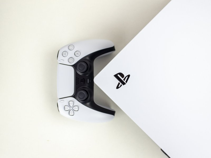 Ps5 With Controller Logo