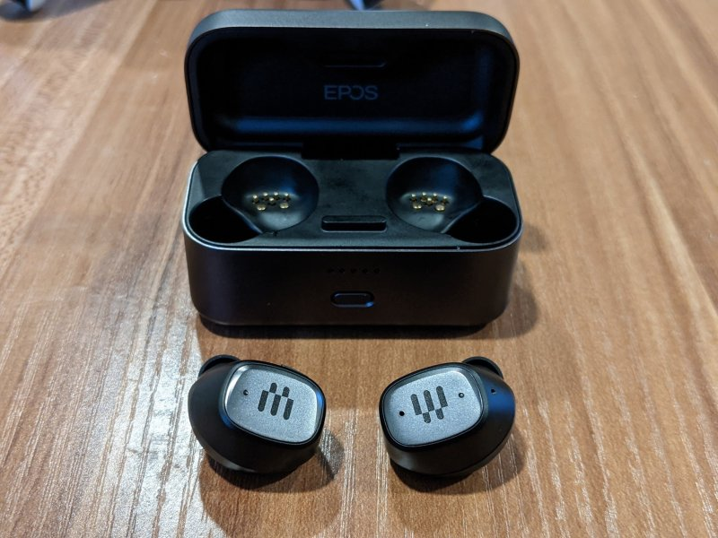 EPOS GTW 270 Hybrid Earbuds and Charging Case