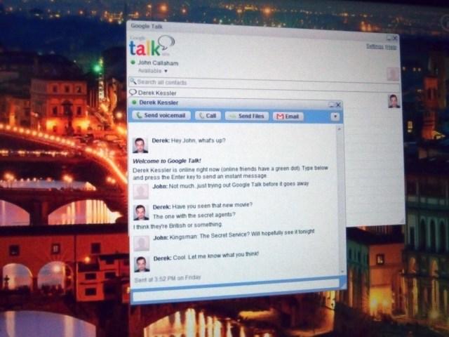 Google Talk on Windows